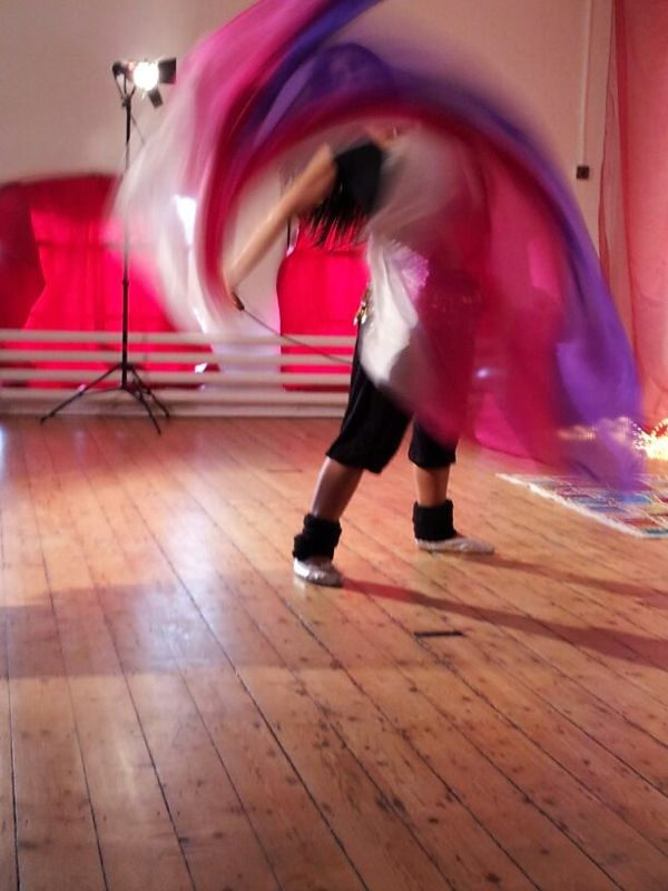 Belly Dance Veil Workshop